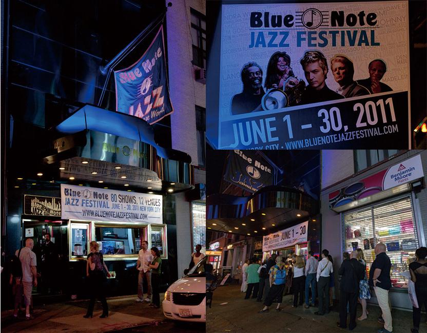 本家ニューヨークで行われている「Blue Note JAZZ FESTIVAL」の模様が「Mikiki」で紹介されました
